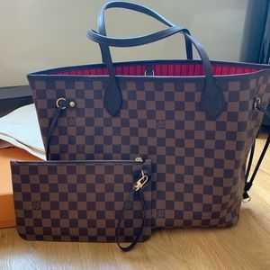 NEW & AUTHENTIC Louis Vuitton Neverfull MM Tote